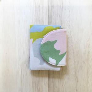 カードケース ペアカモ おしゃれ 手作り 日本製 北欧風 可愛い プチプレゼント|issoecco