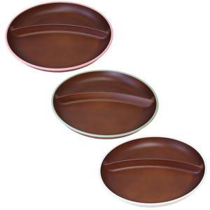 木目ワンプレート トリム 日本製 人気 北欧風 プラスチック 食器 取り皿 テーブルウェア|issoecco