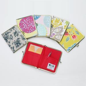 【生地小物】マルチケース メール便送料無料 母子手帳 がまぐち 手作り|issoecco