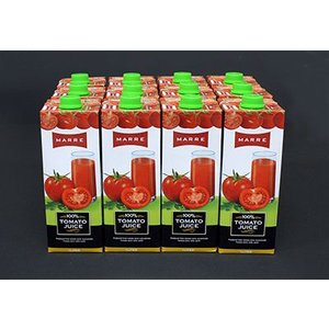 トルコ産の濃厚な100%トマトジュース 12本入り/箱 istanbulkitchen2014