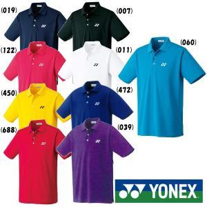 《送料無料》YONEX ユニセックス ポロシャツ(スタンダードサイズ) 10300 ヨネックス テニ...