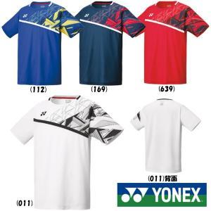 《10%OFFクーポン対象》《送料無料》2020年1月下旬発売 YONEX メンズ ゲームシャツ(フィットスタイル) 10335 ヨネックス テニス バドミントン ウェア