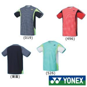 《送料無料》2020年1月下旬発売 YONEX ユニセックス ゲームシャツ(フィットスタイル) 10356 ヨネックス テニス バドミントン ウェア