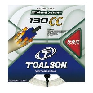 《送料無料》 【トアルソン】テニスストリング Biologic 130CC ボックス(22張入) 7803010