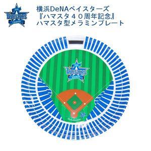 横浜DeNAベイスターズ『ハマスタ40周年記念』ハマスタ型メラミンプレート