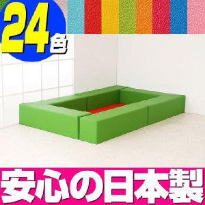 キッズコーナー バンビ30cm角セット 1畳プランA/フロアマット ベビー キッズスペース|isuharikoubou