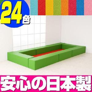 キッズコーナー バンビ30cm角セット 1.5畳プランA/キッズスペース 赤ちゃん プレイマット|isuharikoubou