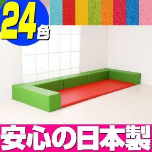 プレイルーム バンビ30cm角セット 1.5畳プランB/キッズスペース キッズコーナー 赤ちゃん プレイマット|isuharikoubou