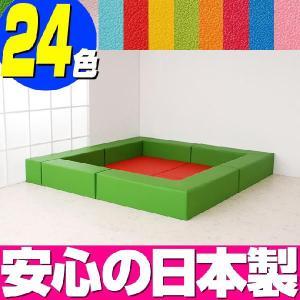 キッズスペース・キッズコーナー バンビ30cm角セット 2畳プランA|isuharikoubou