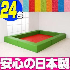 プレイルーム バンビ30cm角セット 3畳プランA/キッズスペース キッズコーナー フロアマット ベビー|isuharikoubou