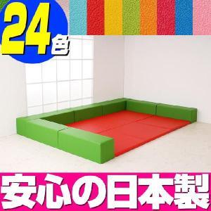 キッズスペース バンビ30cm角セット 3畳プランB/キッズコーナー 遊び サークルジム ベビージム|isuharikoubou