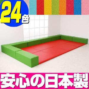 キッズコーナー バンビ30cm角セット 4畳プランB/プレイルーム キッズ スペース コーナー|isuharikoubou