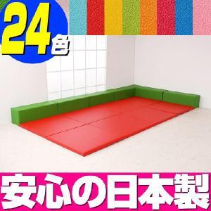 プレイマット バンビ30cm角セット 4畳プランC/キッズスペース キッズコーナー ベビージム|isuharikoubou