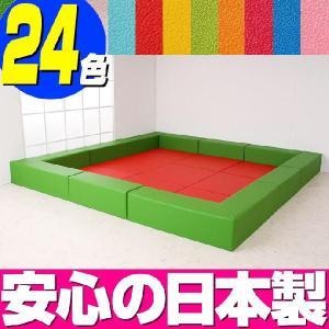 キッズマット バンビ30cm角セット 4.5畳プランA/キッズスペース キッズコーナー クッション マット|isuharikoubou