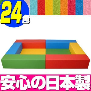 キッズコーナー バンビファンシーセット 1畳/ベビー 幼児 フロアマット キッズスペース|isuharikoubou