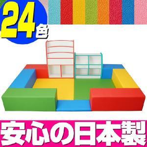 キッズコーナー バンビファンシーセット 1畳 プランB/キッズスペース 激安セット|isuharikoubou