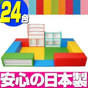キッズコーナー バンビファンシーセット 1畳 プランC/キッズスペース 激安セット|isuharikoubou