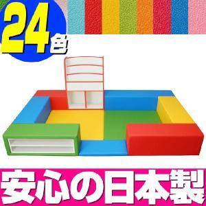 キッズコーナー バンビファンシーセット 1畳 プランF/キッズスペース 激安セット|isuharikoubou