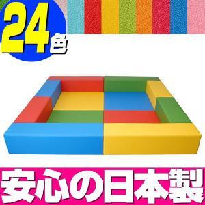 キッズコーナー バンビファンシーセット 2畳/ベビー 幼児 フロアマット キッズスペース|isuharikoubou