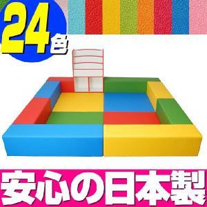 キッズコーナー バンビファンシーセット 2畳 プランD/キッズスペース セット おもちゃばこ 絵本たて|isuharikoubou