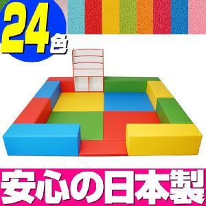 キッズコーナー バンビファンシーセット 2畳 プランE/キッズスペース セット おもちゃばこ 絵本たて|isuharikoubou