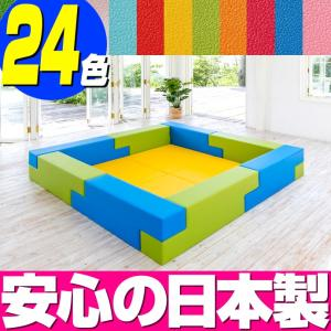 ブロック シリーズ 2畳タイプ 2Aプラン / キッズコーナー キッズルーム かわいい クッションマット キッズスペース ベビー プレイマット isuharikoubou