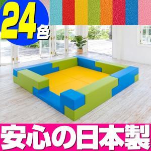 ブロック シリーズ 2畳タイプ 2Bプラン / キッズコーナー キッズルーム かわいい クッションマット キッズスペース ベビー プレイマット isuharikoubou