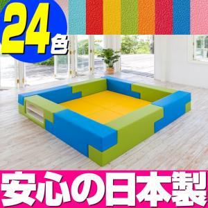 ブロック シリーズ 2畳タイプ 2Fプラン / キッズコーナー キッズルーム かわいい クッションマット キッズスペース ベビー プレイマット isuharikoubou