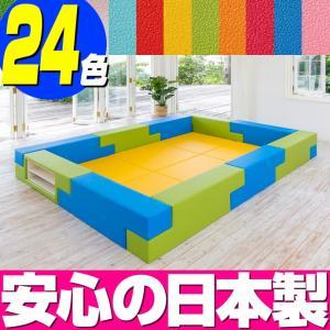 ブロック シリーズ 3畳タイプ 3Bプラン / キッズコーナー キッズルーム かわいい クッションマット キッズスペース ベビー プレイマット isuharikoubou