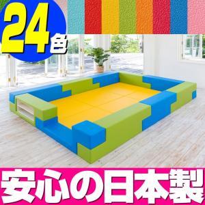 ブロック シリーズ 3畳タイプ 3Dプラン / キッズコーナー キッズルーム かわいい クッションマット キッズスペース ベビー プレイマット isuharikoubou