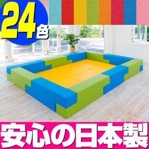 ブロック シリーズ 3畳タイプ 3Fプラン / キッズコーナー キッズルーム かわいい クッションマット キッズスペース ベビー プレイマット isuharikoubou