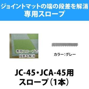 ジョイントマット 抗菌・防炎シリーズ 45cm角(JC-45・JCA-45)用スロープ(1本) / ベビーマット マット フロアマット タイル マット isuharikoubou