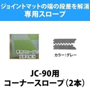 ジョイントマット 防炎シリーズ 90cm角(JC-90)用コーナースロープ(2本入り) / ベビーマット マット フロアマット タイル マット isuharikoubou