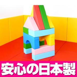 積み木クッション ハウスセット/キッズコーナー セール プレゼント キッズスペース|isuharikoubou