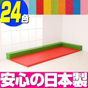キッズコーナー リス20cm角セット 1.5畳プランC/ベビープール 日本製 キッズスペース マット|isuharikoubou