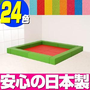 キッズコーナー リス20cm角セット 2畳プランA/プレイルーム 自由自在 キッズスペース フロアマット|isuharikoubou