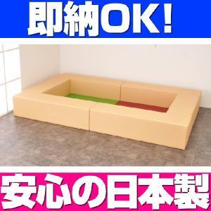 即納 キッズコーナー バンビ30cm角セット 1畳プランA ジャポネカラー/クッション 日本製 キッズスペース 人気|isuharikoubou