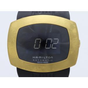 ハミルトン パルソマティック デジタル オートクオーツ H52545339 メンズ 腕時計|isuzu78quality