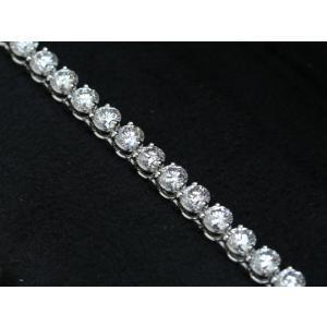 カルティエ エッセンシャルライン ブレスレット プラチナ ダイヤ8ct HP600172|isuzu78quality