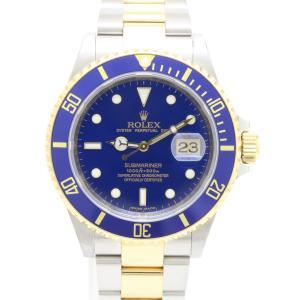 ロレックス 青サブマリーナ 16613 M番 メンズ 腕時計|isuzu78quality