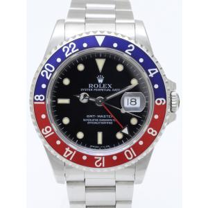 ロレックス GMTマスター 16700 N番 赤青 メンズ 腕時計|isuzu78quality