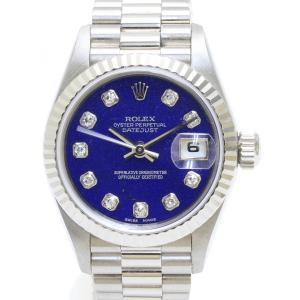 ロレックス 69179G U番 ラピスラズリ文字盤 レディス 腕時計|isuzu78quality