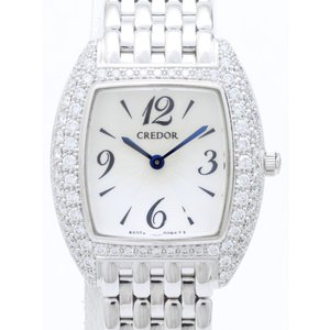 セイコー クレドール K18WGダイヤベゼル GTWE929 5A70-0AL0 レディス 腕時計|isuzu78quality