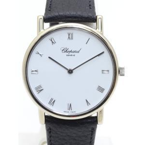 ショパール クラシック ラウンド L.U.C K18WG 手巻き メンズ 腕時計|isuzu78quality