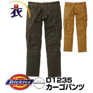 D1235カーゴパンツ 秋冬用  Dickies ディッキーズ 3L 4L 5L 6L対応 大きいサ...