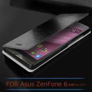 ASUS ZenFone 6 ケース レザー 手帳型 横開き /スタンドカバー /ケース 革 レザーケース ゼンフォン6ケース 0  a600-t36-t41204|it-donya