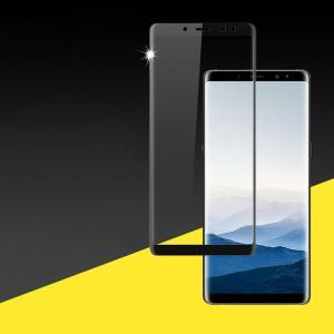 Samsung Galaxy A8 (2018)   ガラスフィルム 強化ガラス 立体ラウンドタイプ 硬度9H ギャラクシー A8  a8-2018-film01-w71222|it-donya