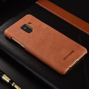 Samsung Galaxy A8 ケース 2018モデルケース レザー シンプル スリム ハードカバー ギャラクシーA8 201  a8-2018-p89-t80206|it-donya