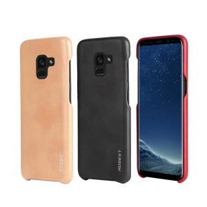 Samsung Galaxy A8 ケース 2018モデルケース レザー シンプル スリム ハードカバー ギャラクシーA8 201  a8-2018-q89-t80125|it-donya