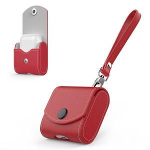 Apple AirPods ケース おしゃれ 上質PU レザーケース シンプル かっこいい エアーポッズ専用ケース  airpods-b04-t80227|it-donya
